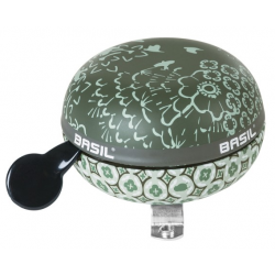 BASIL BOHEME DZWONEK BICYCLE BELL GREEN - dzwonek XXL